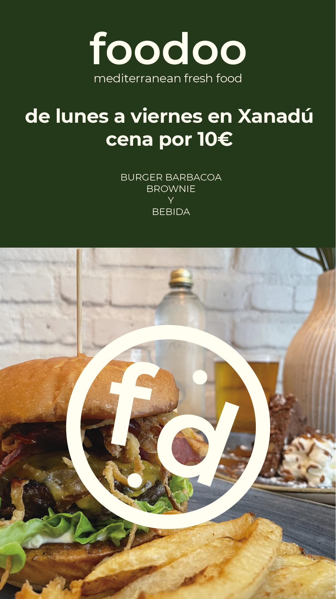 Foodoo Xanadú promoción
