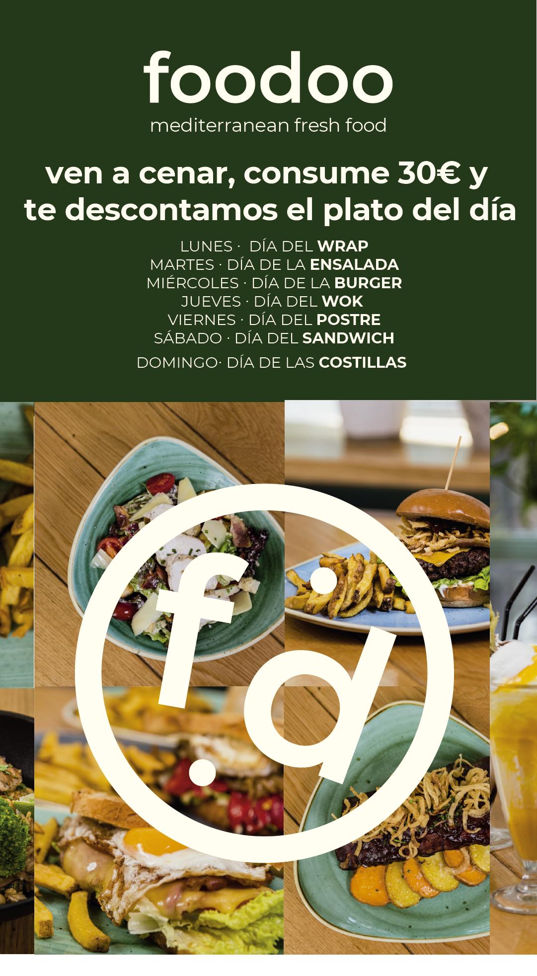 Promoción Foodoo Xanadú