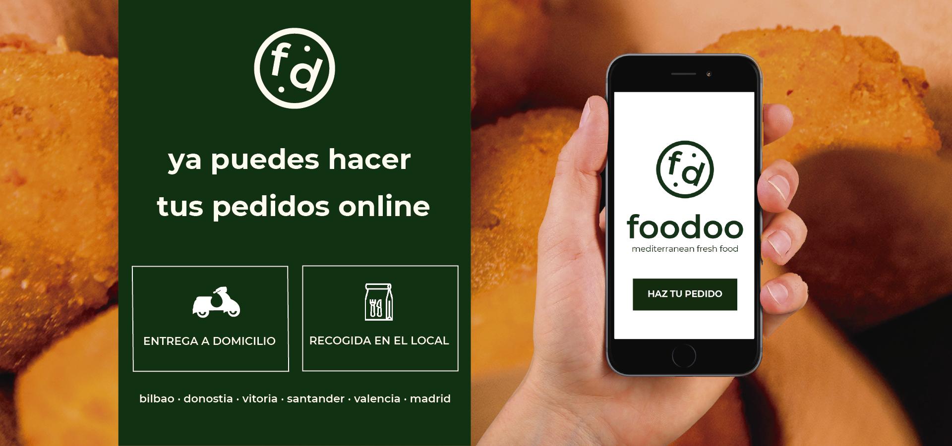pedidos online Foodoo